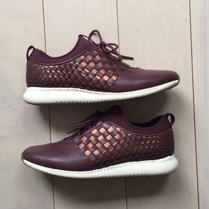 cole haan studiogrand weave sneaker
